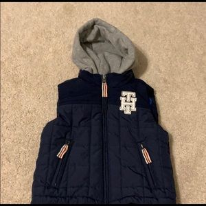 Tommy hilfiger vest toddler 2 cotton hat